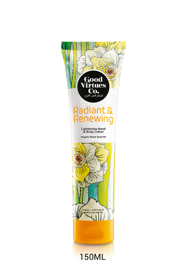 GOOD VIRTUES CO LIGHTENING HAND & BODY LOTION 150ML