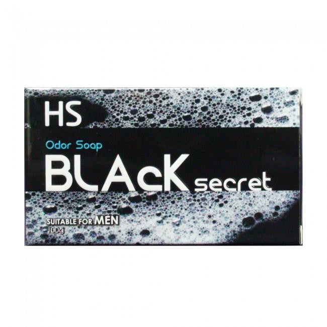 HS BLACK SECRET ODOR SOAP 100G