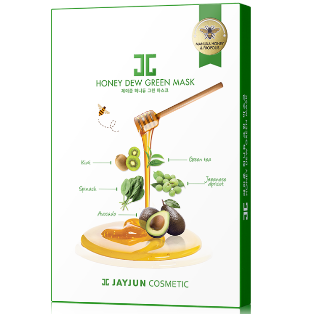 JAYJUN HONEY DEW GREEN MASK 1'S BOX