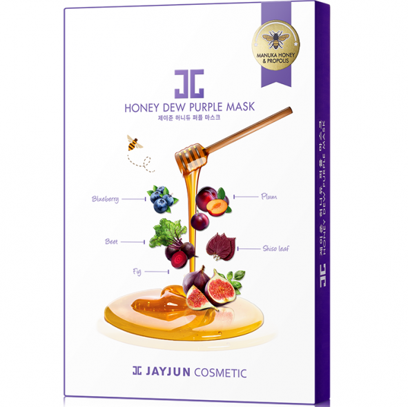 JAYJUN HONEY DEW PURPLE MASK 1'S BOX