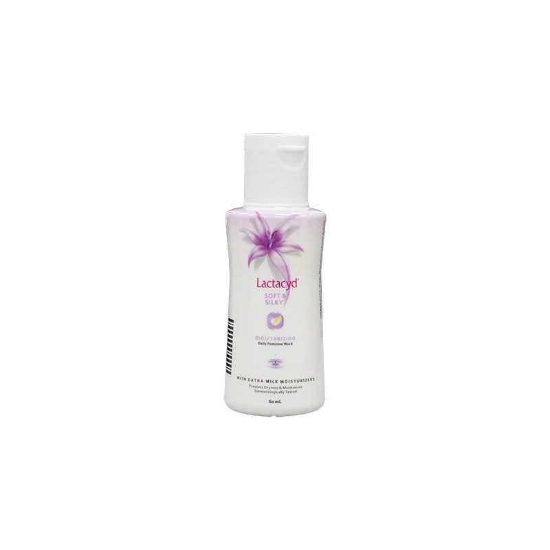 LACTACYD SOFT & SILKY (PURPLE) 60ML
