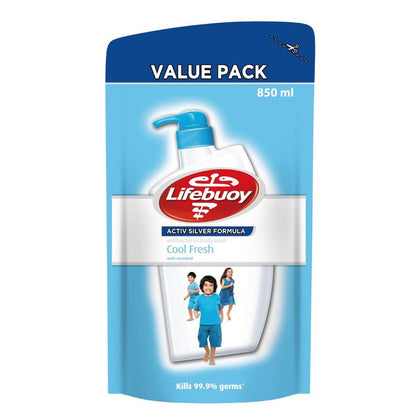LIFEBUOY BODYWASH COOLFRESH REFILL 850ML
