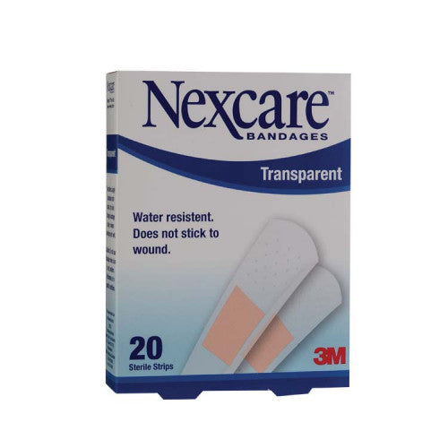 NEXCARE TRANSPARENT STRIP 20'S