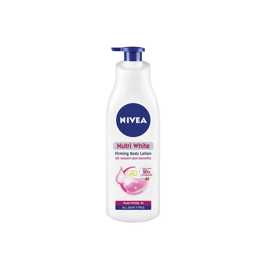 NIVEA BODY NUTRI WHITE FIRMING LOTION SPF20 350ML