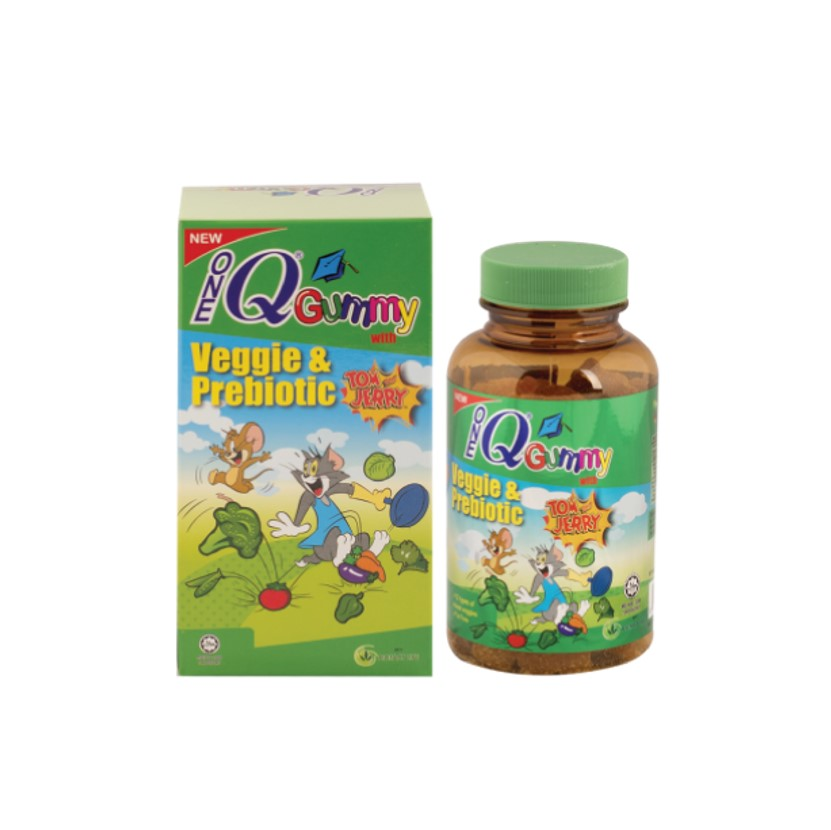 ONE Q GUMMY WITH VEGGIE & PREBIOTIC 60'S