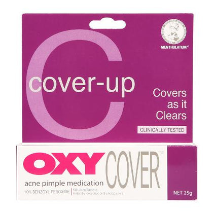 OXY 10 COVER ACNE MEDICATION 25G
