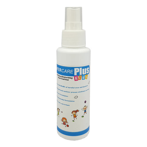 SAFERCARE PLUS HAND SANITIZER FOR KIDS 100ML (SPRAY MODE)