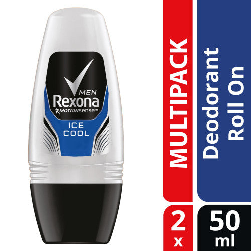 REXONA MEN ROLL ON ICE COOL 50MLX2