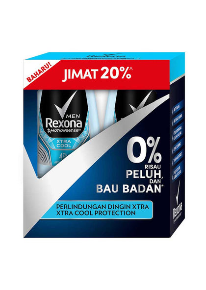 REXONA MEN ROLL ON XTRA COOL 50MLX2