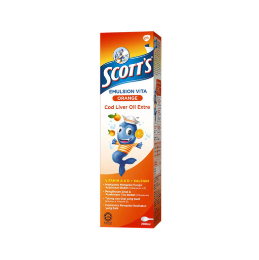 SCOTT'S EMULSION ORANGE 200ML