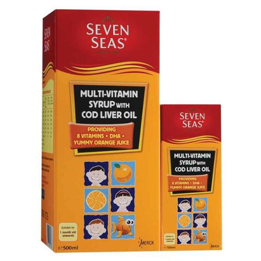 SEVEN SEAS MULTIVITAMIN SYRUP 500ML + 100ML