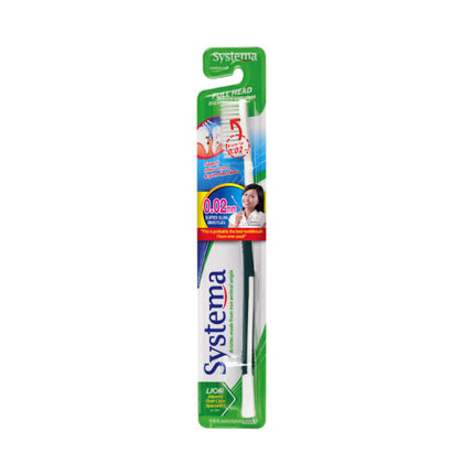 SYSTEMA TOOTHBRUSH FULL HEAD