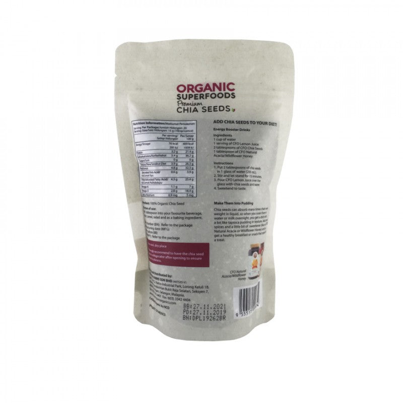 COUNTRY FARM ORGANIC CHIA SEED 300G