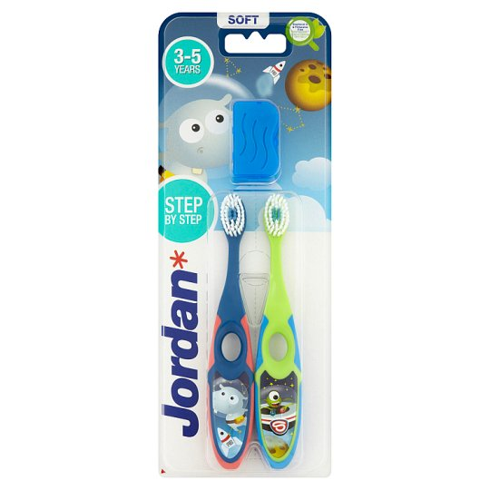 JORDAN TOOTHBRUSH STEP 2 3-5 YEARS (S) TWINPACK