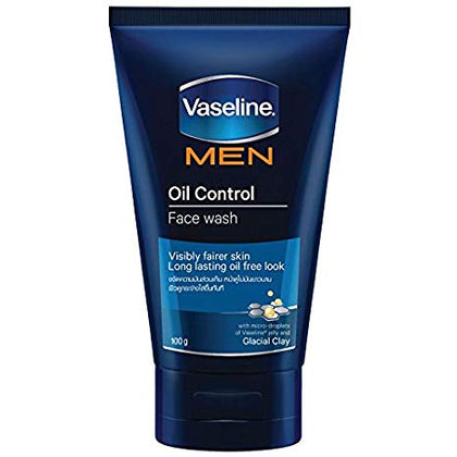 VASELINE MEN OIL CONTROL FACE WASH 100G