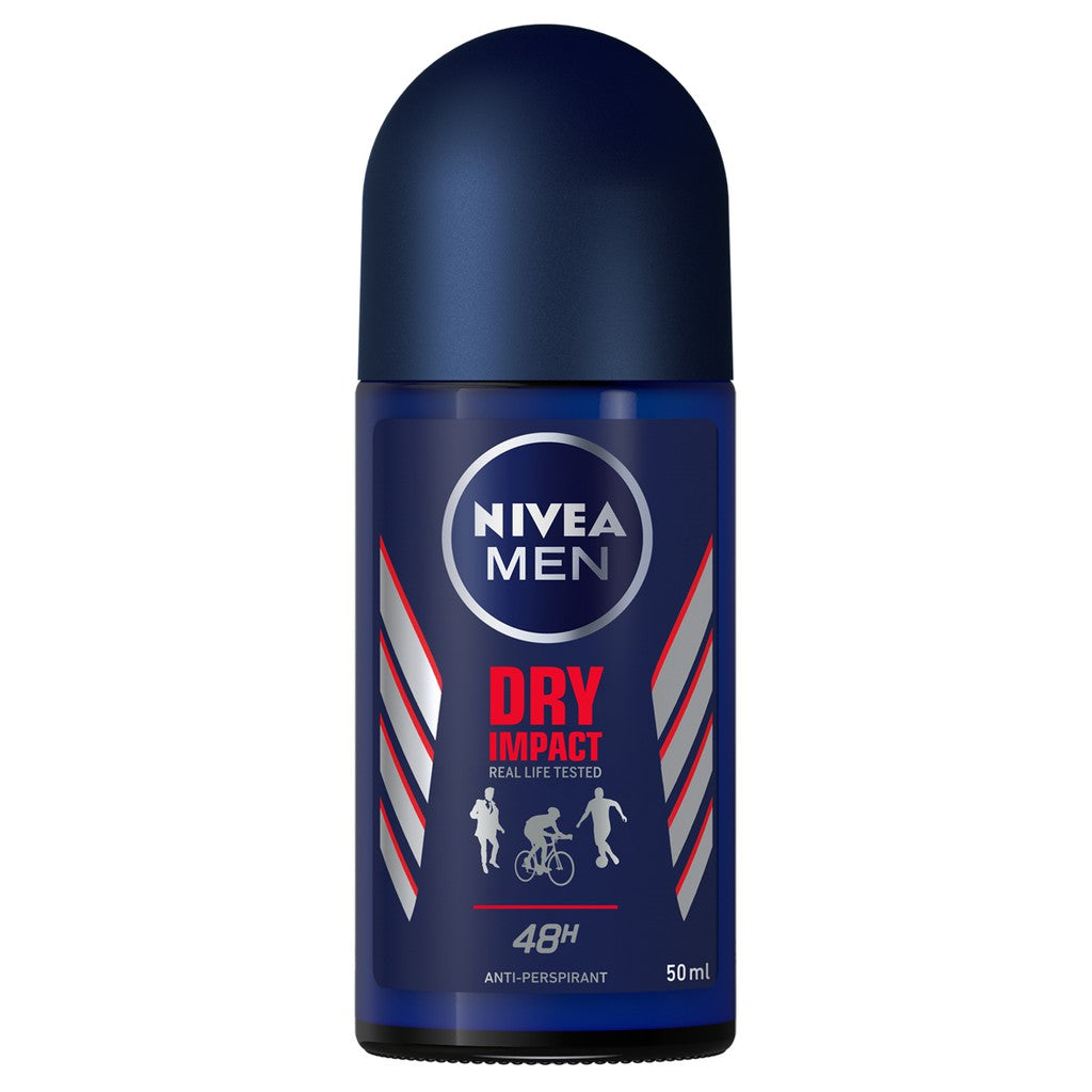 NIVEA DEO (M) ROLL ON DRY IMPACT 50ML