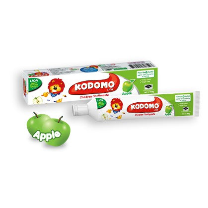 KODOMO CHILD TOOTHPASTE APPLE 40G