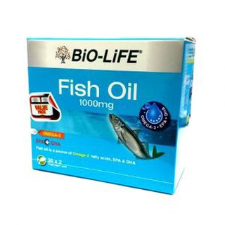 BIO-LIFE FISH OIL VEGECAPS 1000MG 30'SX2