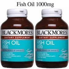 BLACKMORES FISH OIL 1000MG 120'SX2