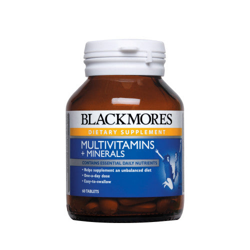 BLACKMORES MULTIVITAMINS & MINERALS 30'S