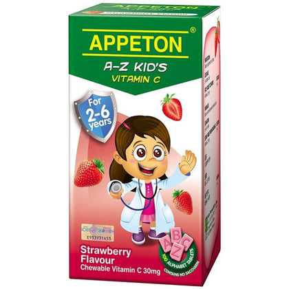 APPETON A-Z KID'S VITAMIN C STRAWBERRY 100'S
