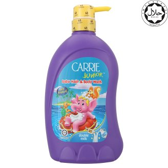 CARRIE JUNIOR HAIR & BODY WASH DOUBLE MILK 700ML