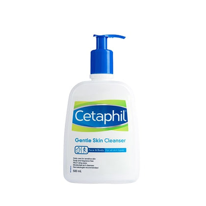 CETAPHIL GENTLE SKIN CLEANSER 500ML(EXP 04/2021)