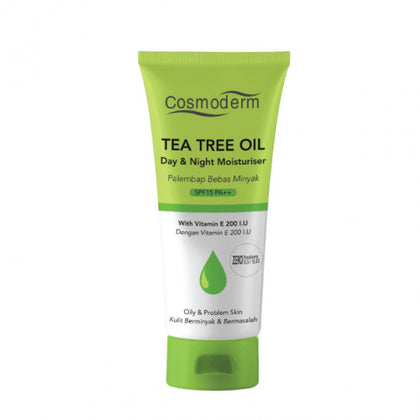 COSMODERM TEA TREE OIL DAY & NIGHT MOISTURISER 50ML