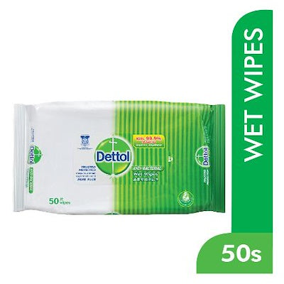 DETTOL ANTI-BACTERIAL WIPES 50'S