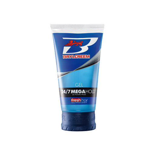 BRYLCREEM 24/7 MEGA HOLD GEL 150ML