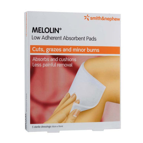 S&N MELOLIN ABSORBENT PADS 10CMX10CM 5'S