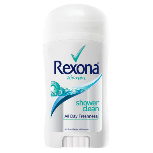 REXONA WOMEN STICK SHOWER CLEAN 40G