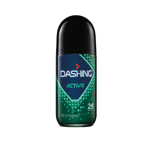 DASHING ROLL ON DEODORANT ACTIVE 50ML