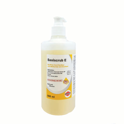 SANISCRUB E HAND SANITIZER  500ML