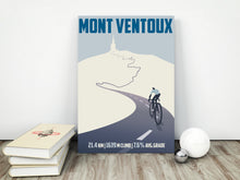Load image into Gallery viewer, Mont Ventoux Cycling Art Print