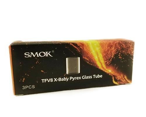 Smok Tfv8 X-Baby Pyrex Glass Tubes (3 Pcs) Accessories