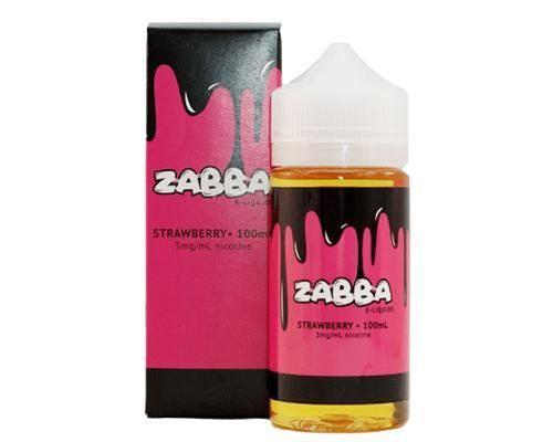 Zabba - Strawberry (100Ml) Eliquid