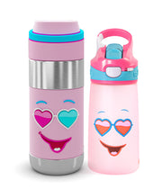 Tale of two bottles Combo (1 Snap Lock Sipper Bottle + 1 Clean Lock Insulated Stainless Steel Bottle)