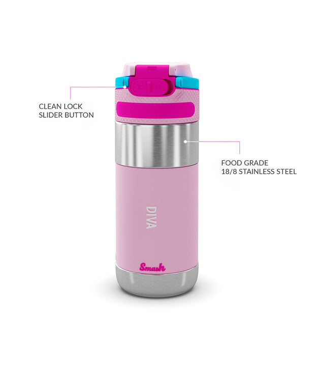 Clean Lock Insulated Stainless Steel Bottle
