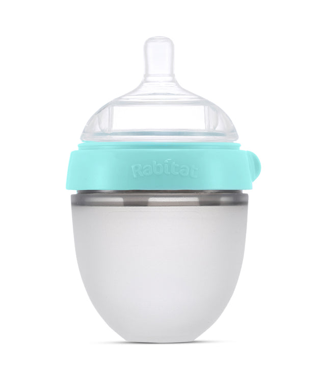 Combo Pack (Pamper Soft Bamboo Swaddle + 150 ml Squeezy Silicone Feeding Bottle)
