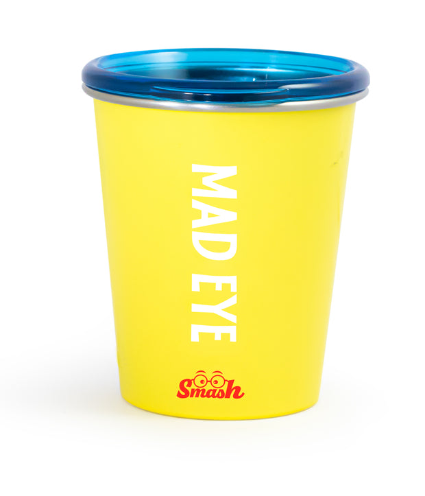 Stainless Steel Tumbler with Training Lid - Mad Eye