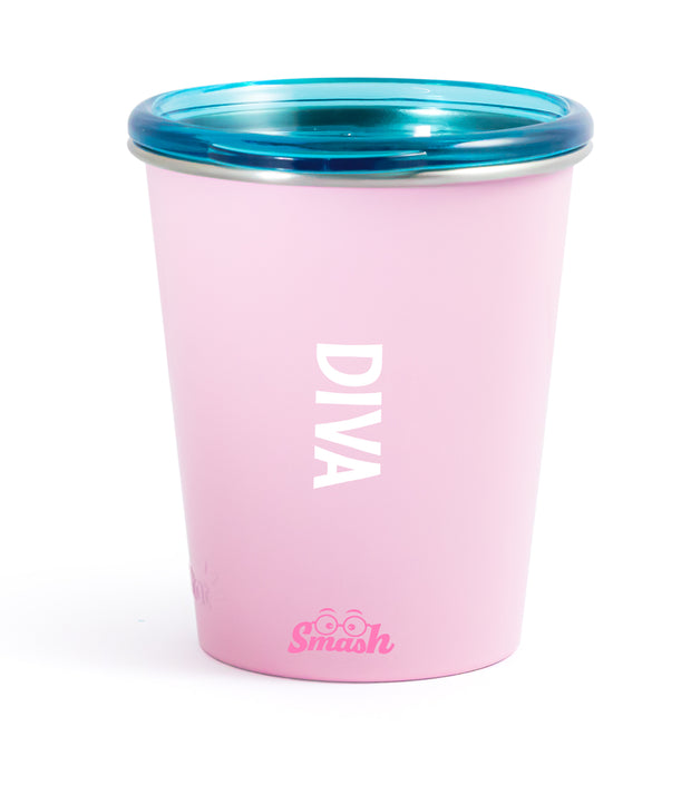 Stainless Steel Tumbler with Training Lid - Diva