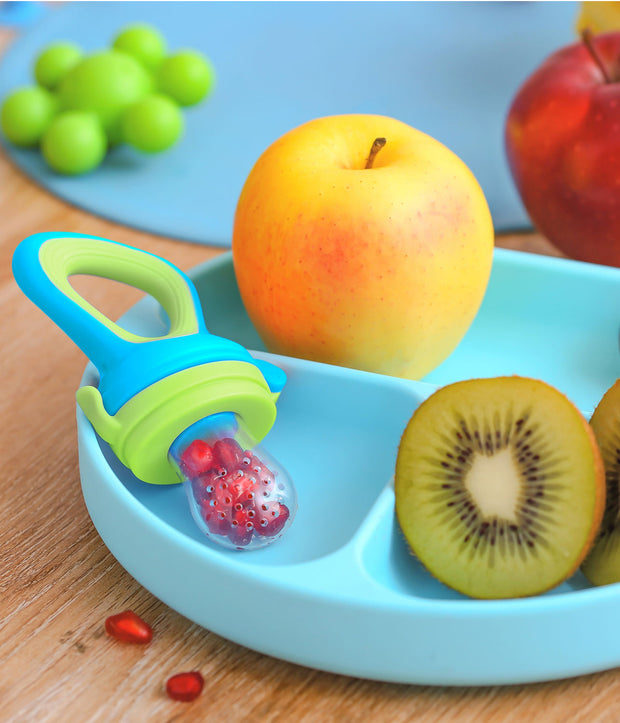 Hygienic Snap Lock Nibbler, Silicone Fruit Feeder