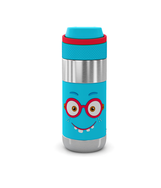 Essential Combo Steel (1 Smash Kids School bag + 1 Stainless Steel Tumbler with Training Lid + 1 Clean Lock Insulated Stainless Steel Bottle)