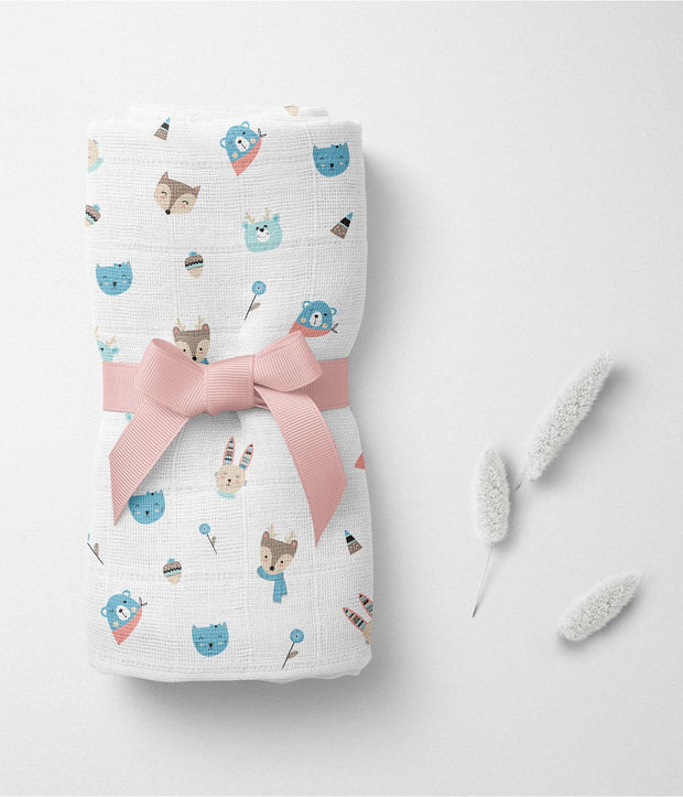 Pamper Soft Bamboo Swaddle Pack of 5