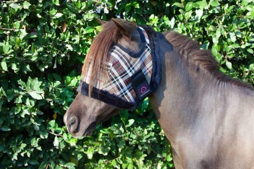 Pony Fly Mask with Plush Fleece