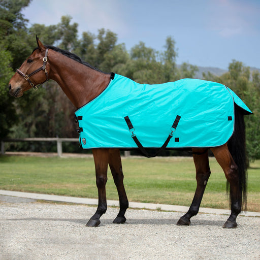 Kensington All Around 1200D waterproof Rain Sheet. Turquoise