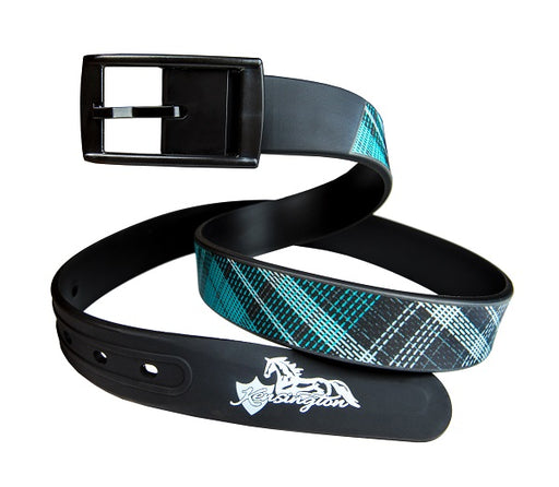 Kensington turquoise Silicone Belt. Equestrian gift