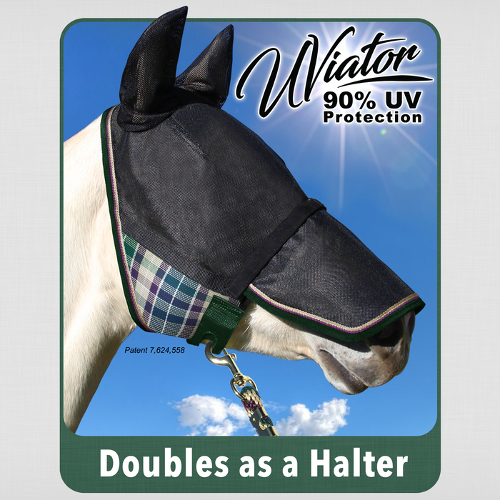 Fly Mask - UViator with Ears and Removable Nose