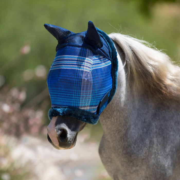 Mini/Pony Fly Mask W/ Ears & Fleece
